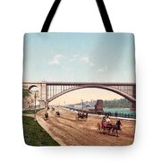 Washington Bridge 1901 Tote Bag