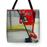 Washington Capitals Nicklas Backstrom Home Hockey Jersey Tote Bag