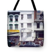 Washington Chinatown In The 1980s Tote Bag by Thomas Marchessault
