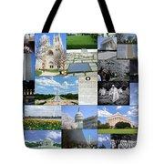 Washington D. C. Collage  Tote Bag