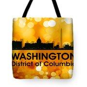 Washington Dc 3 Tote Bag