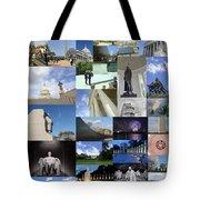 Washington D. C. Collage 3 Tote Bag