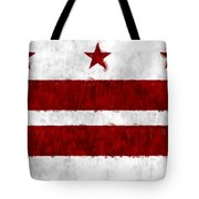 Washington D.c. Flag Tote Bag
