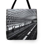 Washington Dc Metro Station I Tote Bag