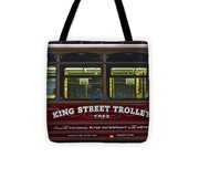 Washington Dc Trolley Tote Bag