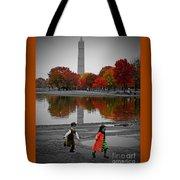 Washington Fall Children Tote Bag