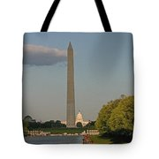 Washington Monument And Capitol Building-2 Tote Bag
