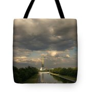 Washington Monument And Capitol Tote Bag