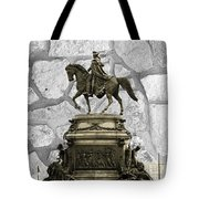 Washington Monument At Eakins Oval Tote Bag