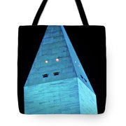 Washington Monument At Night Tote Bag