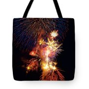 Washington Monument Fireworks 3 Tote Bag by Stuart Litoff
