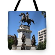 Washington Monument - Richmond Va Tote Bag