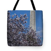 Washington Monument Tote Bag by Susan Candelario