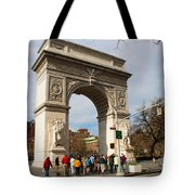 Washington Square Arch New York City Tote Bag