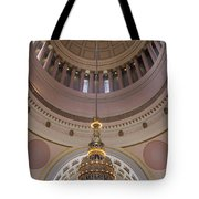 Washington State Capitol Building Chandelier Closeup Tote Bag
