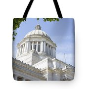 Washington State Capitol Building Dome Tote Bag