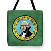 Washington State Flag Tote Bag