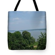 Washington's View From Mt. Vernon Tote Bag