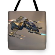 Wasp Fighter Tote Bag