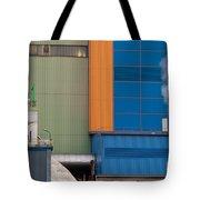 Waste-to-energy Plant Detail Oberhausen Germany Tote Bag
