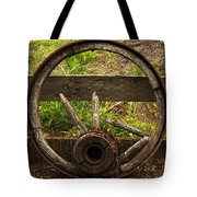 Www. Wasted Wagon Wheel Tote Bag