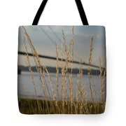 Wasting Time By The Humber Tote Bag