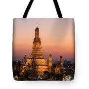 Wat Arun At Sunset - Bangkok Tote Bag