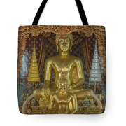 Wat Chai Monkol Phra Ubosot Buddha Images Dthcm0849 Tote Bag