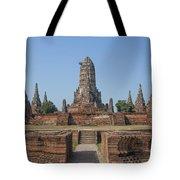 Wat Chaiwatthanaram From The East Dtha0187 Tote Bag