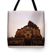 Wat Chedi Luang Sunset Tote Bag