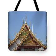 Wat Chumphon Nikayaram Phra Ubosot Gables Dtha0125 Tote Bag