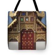 Wat Duang Dee Phra Ubosot Door  Dthcm0297 Tote Bag