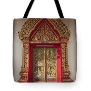 Wat Liab Ubosot Center Door Dthu349 Tote Bag