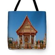 Wat Liab Ubosot Dthu035 Tote Bag