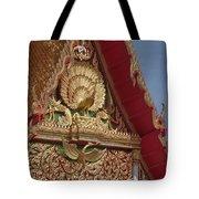 Wat Luang Pu Supa Ubosot Gable Dthp330 Tote Bag
