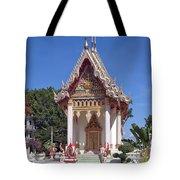 Wat Mahawanaram Ubosot Dthu652 Tote Bag