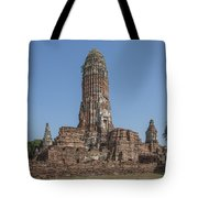 Wat Phra Ram Great Central Prang Complex Dtha0157 Tote Bag