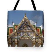 Wat Phrasri Mahathat Ubosot Gable Dthb1465 Tote Bag