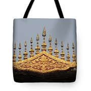 Wat Roof Detail Tote Bag