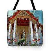 Wat Suthat In Bangkok-thailand Tote Bag