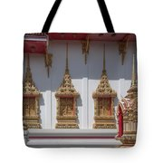 Wat Suwan Khiri Khet Ubosot Windows Dthp273 Tote Bag