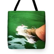 Watauga Lake Crystal Green Tote Bag