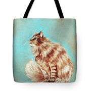 Watch Cat Tote Bag