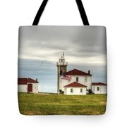 Watch Hill Lighthouse Tote Bag