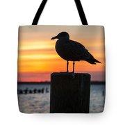 Watch The Birdie Tote Bag