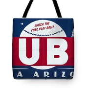 Watch The Cubs Tote Bag