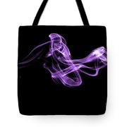 Watch The Flow - Purple Tote Bag