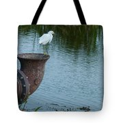 Watch The Gator Tote Bag