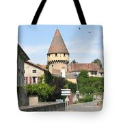 Watch Tower In Cluny Tote Bag