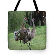 Watch Your Parents Tote Bag by Carol Groenen